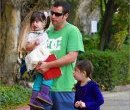 Адам Сендлер и дочки