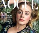 Адель на обложке Vogue, март 2016
