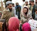 Анджелина Джоли открывает школу в Афганистане