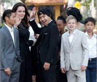 Анджелина Джоли в Камбодже, 2017
