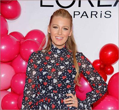 Блейк Лайвли: L'Oréal Paris 2017