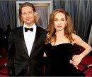 Бред Питт и Анджелина Джоли на церемонии вручения Оскаров 2012