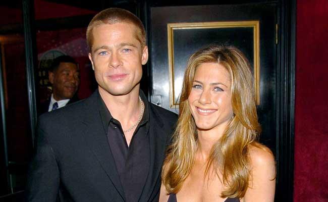 Brad-Pitt-Jennifer-Aniston-arhivnoe-foto
