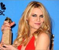 Актриса Клэр Дейнс на церемонии вручения премии «Золотой глобус»