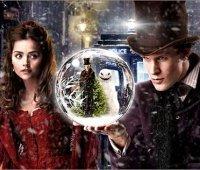 Дженна-Луиз Коулмэн и Мэтт Смит в рождественской серии «Доктора Кто»