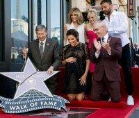 Ева Лонгория: звезда на Аллее Славы в Голливуде