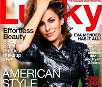 Ева Мендес, журнал Lucky, октябрь 2013