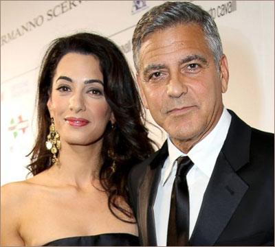 Джордж Клуни и Амаль Аламуддин станут родителями
