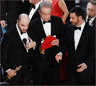 Джордан Горовиц, Уоррен Битти и Джимми Киммел: Оскар 2017