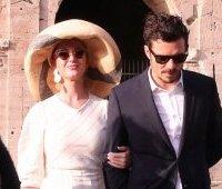 Кэти Перри и Орландо Блум: Колизей, Рим, Италия