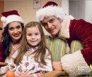 Кэти Перри и Орландо Блум в детском госпитале