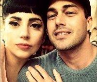 Леди Гага и Тейлор Кинни, фото в Instagram