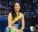 Люси Лью на программе Джими Фэллона, январь 2013