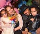 Мэрайя Кэрри и Ник Кэннон с детьми