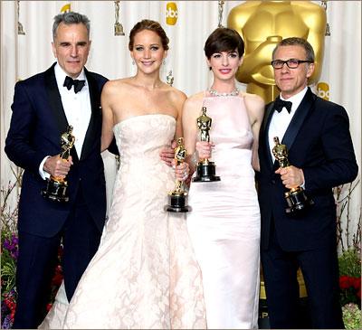 Победители Оскар 2013