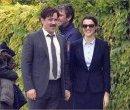 Рэйчел Вайс и Колин Фаррел на съёмках фильма «Лобстер»